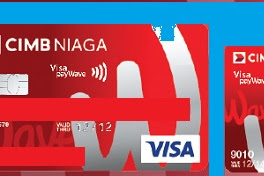 Kartu Kredit CIMB Niaga Wave n Go: Cashback, Cicilan 0, Limit, Free Iuran