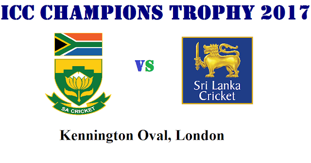 ICC Champions Trophy 2017 Match Preview and where to watch live South Africa vs Sri Lanka Match 3