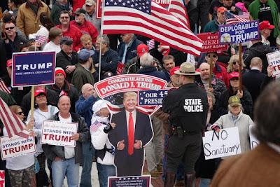 Trump S Speech On Police In Rhode Island