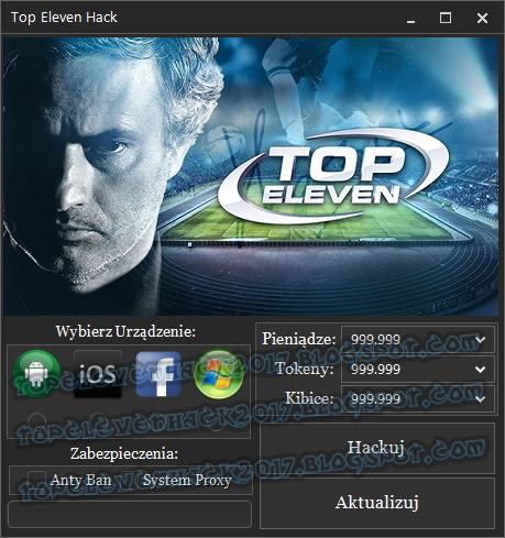 Top Eleven Hack na Tokeny, Pieniądze i Kibiców