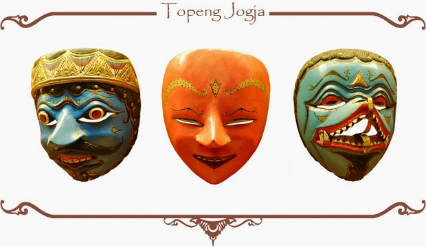 Gambar Topeng Tradisional Yogyakarta Seni Budaya Indonesia Jogja