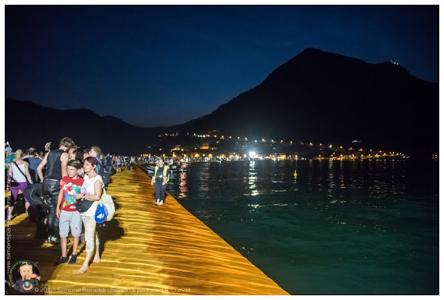 floating piers primo approccio