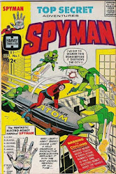 SPYMAN #1 FROM HARVEY THRILLERS!