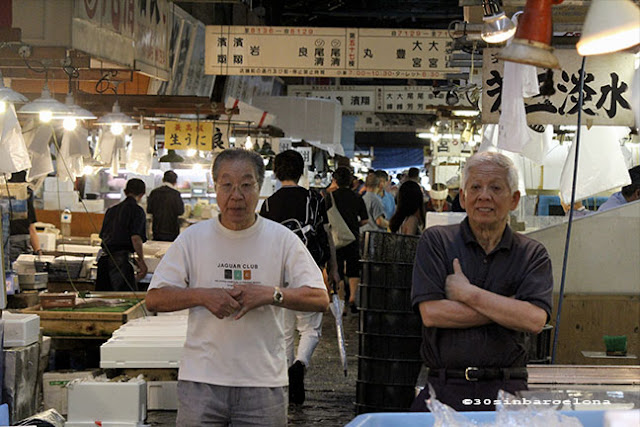 Famous Fish Market in Tokyo
