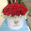 Flowerbox Mawar Merah 050717