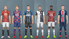 Europe Kitpack 2018/19 Update (For PTE Patch) - PES 2017