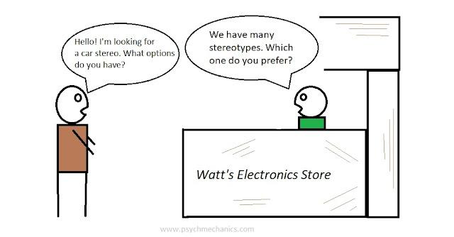 stereotypes pun