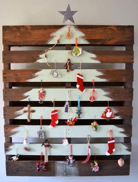feliz-natal-decoracao-enfeites-natalinos-diy-palete-árvore-de-natal