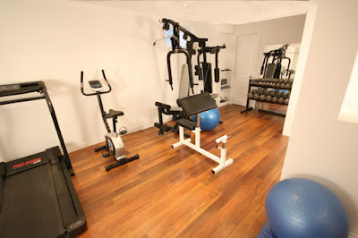 Oakville Basement Workout Gym