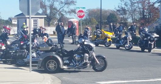 Polar Bear Grand Tour Motorcycle Run to Irish Eyes Pub, Lewes, DE, on November 4, 2018
