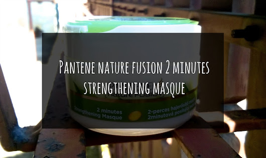 PANTENE nature fusion 2 minutes Strengthening Masque