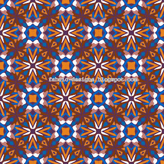 beautiful geometric pattern for textile designing