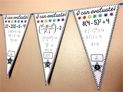 free math pennants