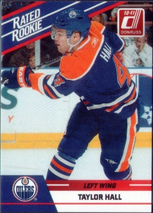 Wax Stain Rookie Taylor Hall Rated Rookie Toronto Expo 250