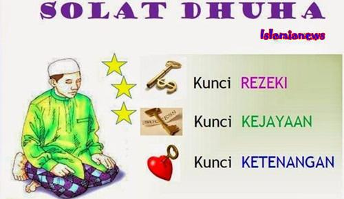 Tata Cara Bacaan Niat Dan Doa Serta Fadhilah Sholat Sunat Dhuha