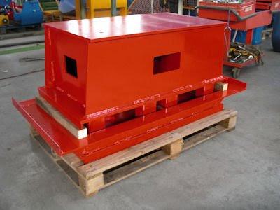 concrete block making machine parts