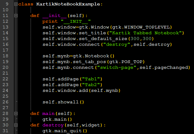simplyCurious: Notebook: Tabbed container in PyGTK
