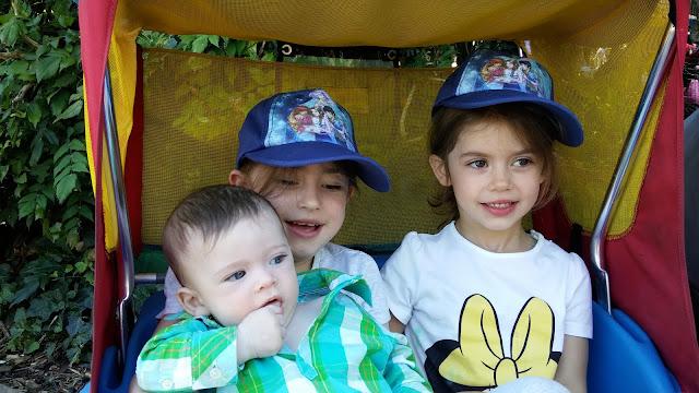 The children at Legoland