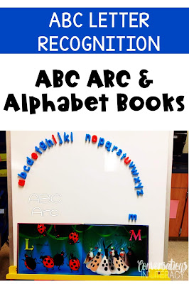 ABC Arc for Letter Recognition and Letter Identification Activities
