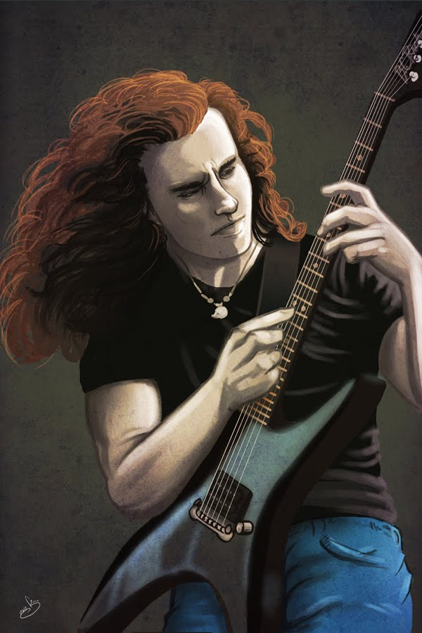 It's Deadly - The Art of Gus Kosmopoulos: Chuck Schuldiner ...