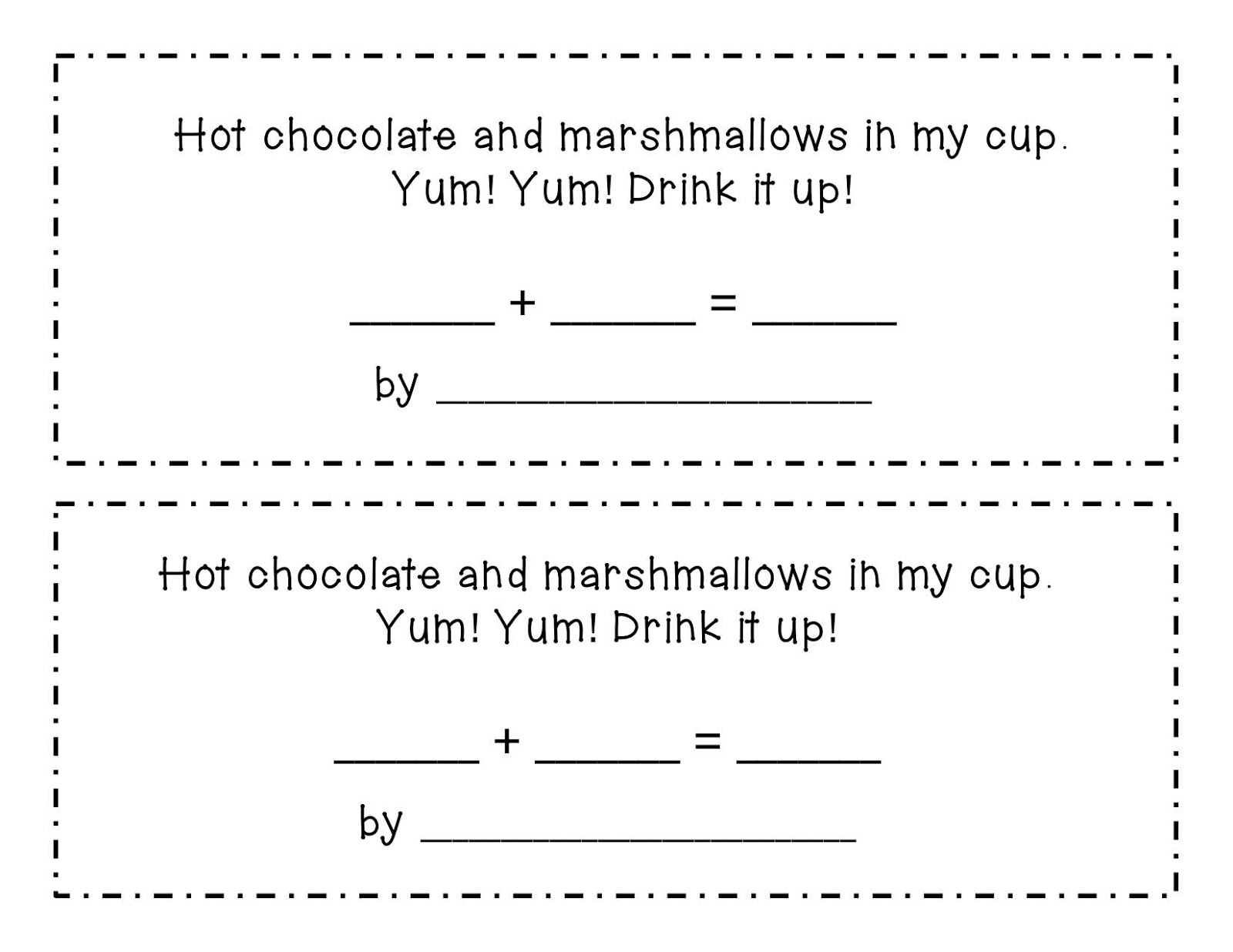 Kinder Learning Garden Hot Chocolate Addition