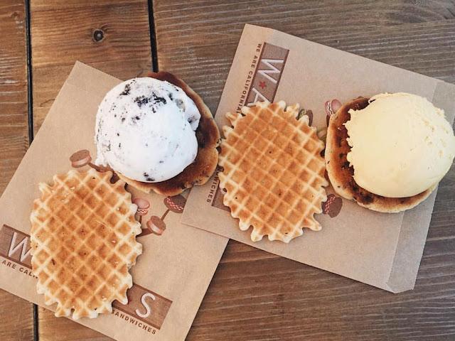 Wacis: los auténticos sandwiches de helado californianos están en Valencia