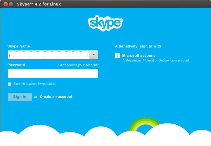 Skype on GNU/LINUX