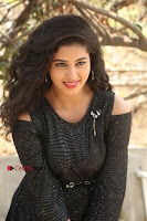 Telugu Actress Pavani Latest Pos in Black Short Dress at Smile Pictures Production No 1 Movie Opening  0273.JPG