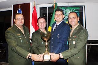 brasil vence olimpiadas militares