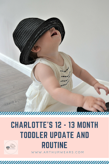 pin - 12 to 13 month toddler update and routine