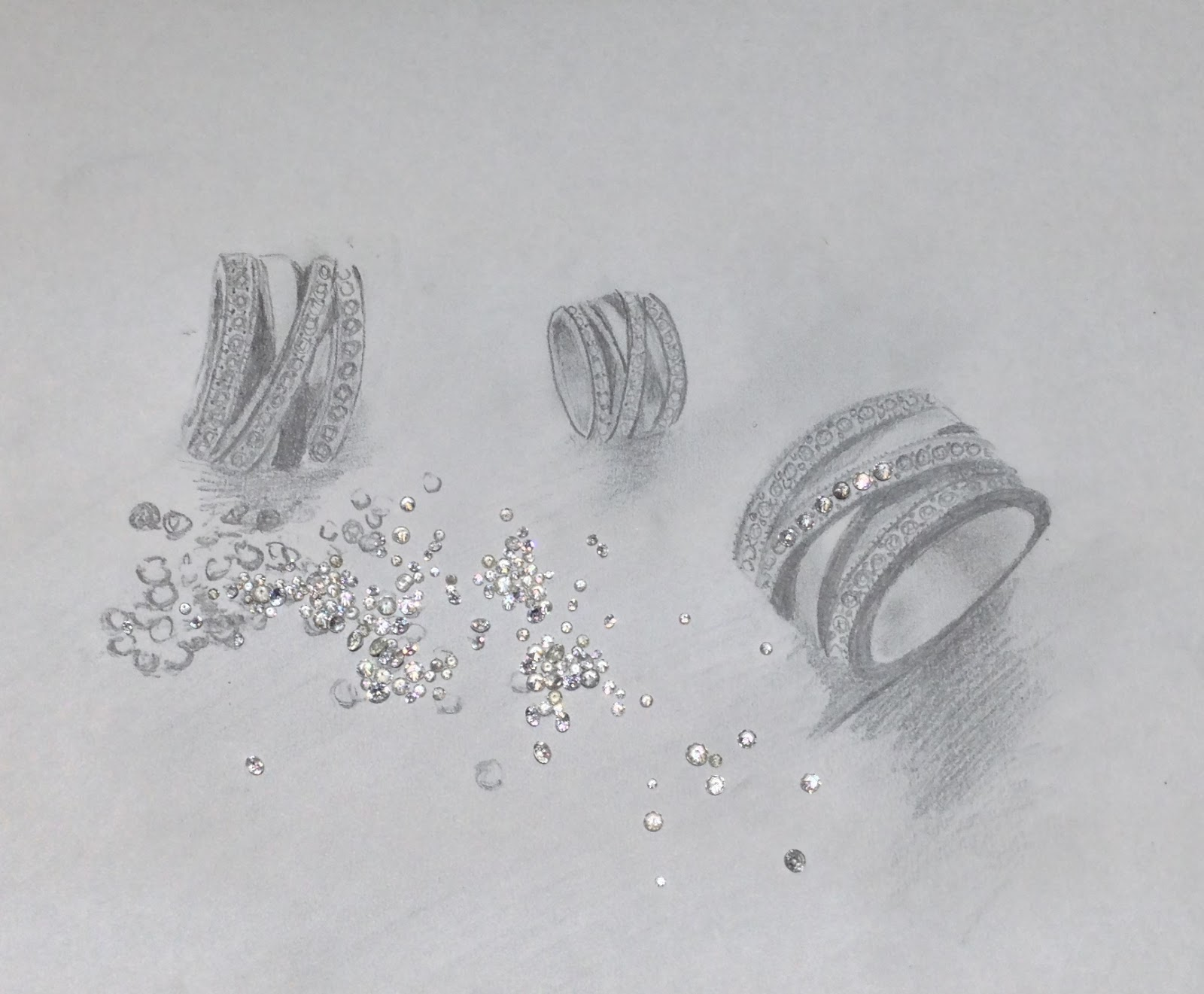 Jewelry Design Process, Le Vian, Chocolate Diamonds, Criss-Cross Ring, Criss Cross Ring