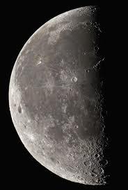 come sapere le fasi della luna, luna decrescente.