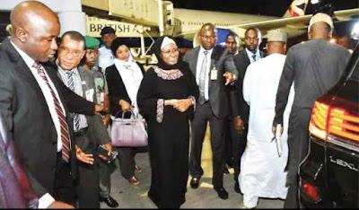 Orji Kalu's Claims: Aisha Didn't Say When Buhari Will Return