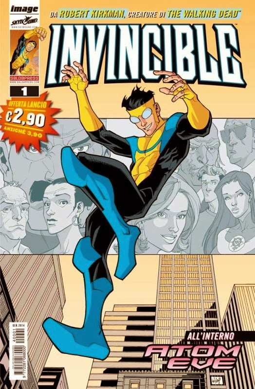 Invincible in edicola Saldapress