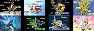 Digimon Adventure 02 Armour Digivolving Flamdramon Raidramon Halsemon Shurimon Digmon Submarimon Pegasusmon Neferimon