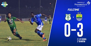 Video Gol Highlights PSMS Medan vs Persib Bandung 0-3 Liga 1 2018