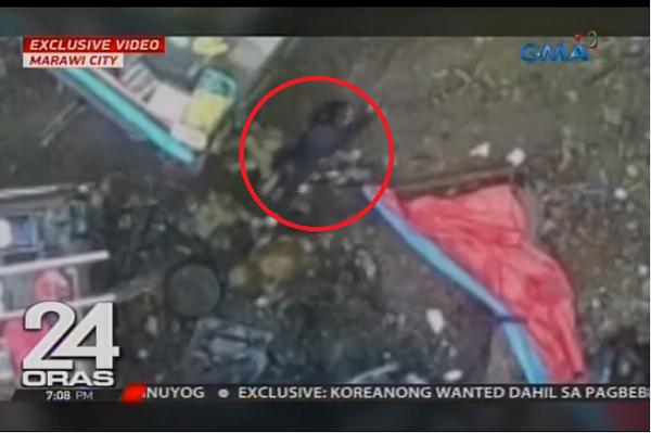 WATCH | Aktwal na pag-rekober sa bangkay nina Isnilon Hapilon at Omar Maute nakunan sa Vide0