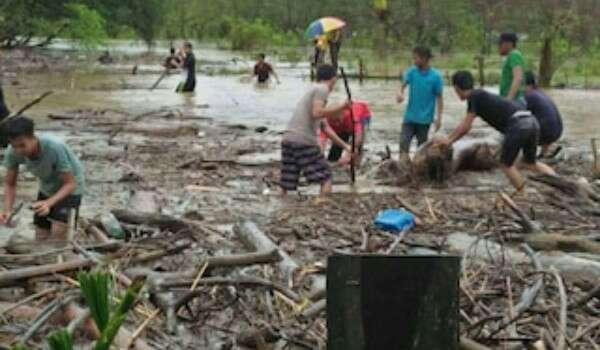 4,244 penduduk Kota Belud terjejas banjir kilat