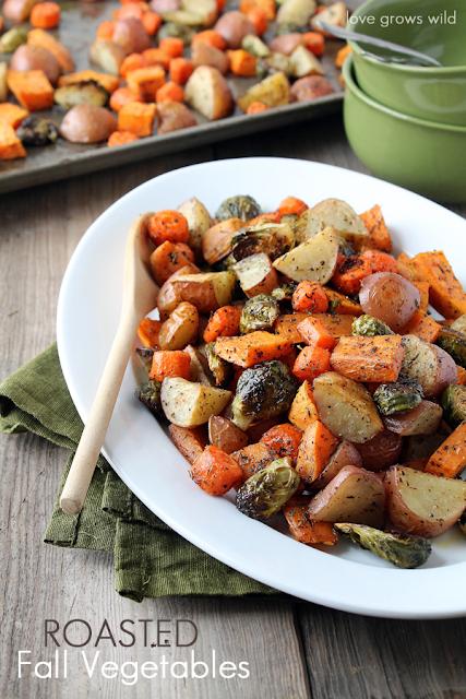 Roasted Fall Vegetable Side Dish
