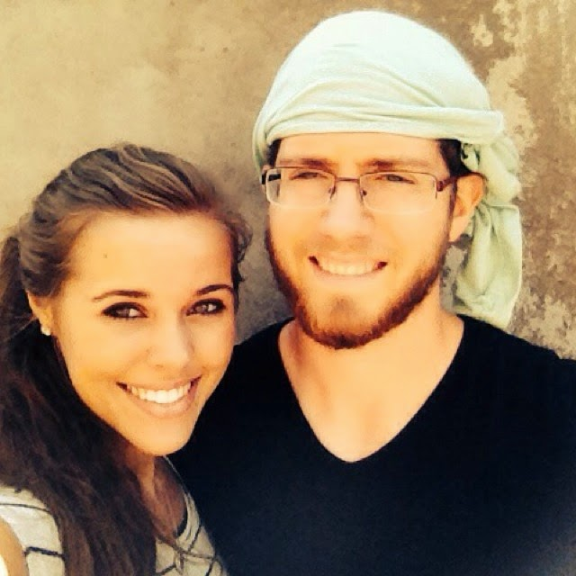 Jessa Duggar and Ben Seewald in Central America