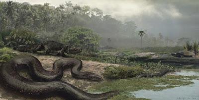 Kehidupan makhluk purba buaya monster dan ular terbesar di dunia.