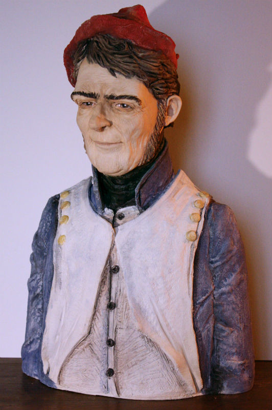 sculpture Jacobite par Andrew Black