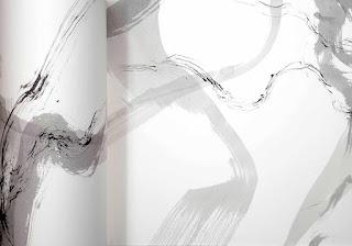 Livres-frise, encre sur Arches sur Arches © Annik Reymond