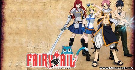 Fairy Tail entre os melhores do mundo
