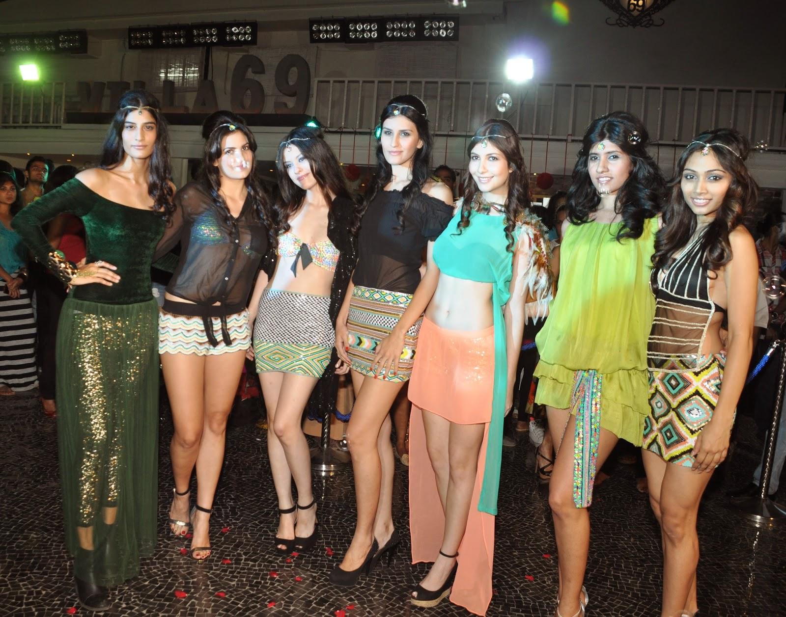 Models for Simply Simone at Villa 69