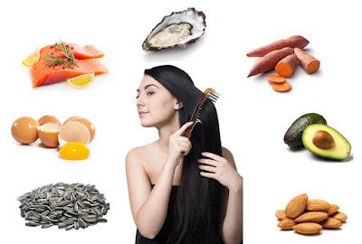 Makan Untuk Rambut Sehat