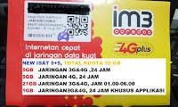 PERDANA INDOSAT 5GB + 5 GB (TOTAL KUOTA 10GB EKS INDOSAT 13GB