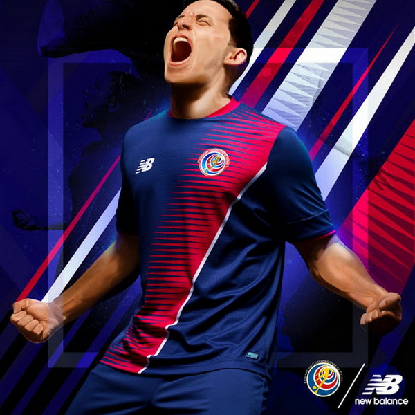 costa rica football maillot new balance