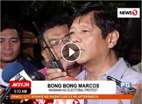 JUST IN | Aarangkada na ngayong araw ang Preliminary Conference electoral protest ni Bongbong Marcos laban kay VP Leni