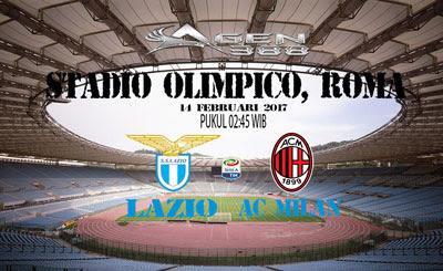 JUDI BOLA DAN CASINO ONLINE - PREDIKSI PERTANDINGAN LIGA ITALIA SERIE A LAZIO VS AC MILAN 14 FEBRUARI 2017